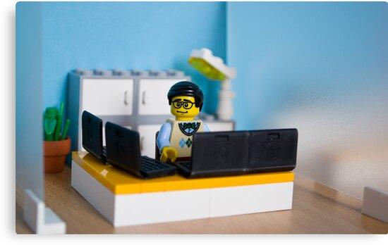 Geek @ work by designholic