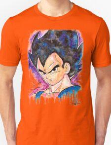 Epic Prince Vegeta - Watercolor - Streetart Tees n more! Jonny2may T-Shirt