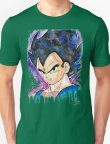 Epic Prince Vegeta - Watercolor - Streetart Tees n more! Jonny2may T-Shirt