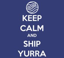 Keep Calm and Ship Yurra! by SpazzyFanGirl