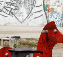 Introspective Grafitti, Marseilles, France 2012 Sticker