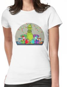 Grinchy Womens Fitted T-Shirt