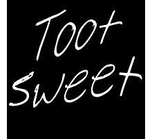 Toot Sweet Photographic Print