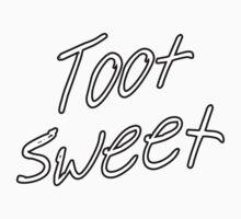 Toot Sweet Baby Tee