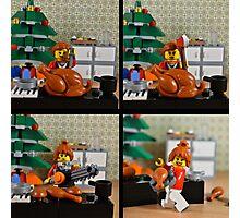 christmas lego Photographic Print