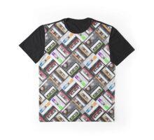 Retro Cassette Tapes Graphic T-Shirt