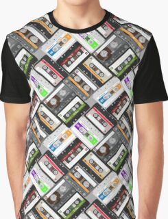 Retro Cassette Tapes Graphic T-Shirt
