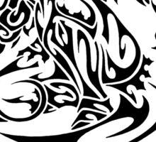 Zed Tribal Sticker