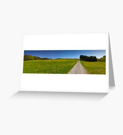 Rural Spring Greeting Card