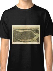 Panoramic Maps Boston 1899 Classic T-Shirt