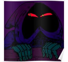 hooded figure Poster
