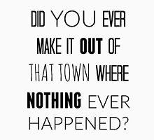 Hello, Hollow, Empty Towns T-Shirt