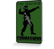 Going Commando Greeting Card