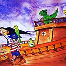 Captain Fraz and the Pirates by Mitch Adams