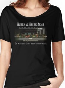 The Black & White Last Supper Women's Relaxed Fit T-Shirt