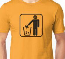 Keep Gotham Clean - Black Unisex T-Shirt