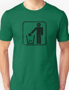 Keep Gotham Clean - Black Distressed T-Shirt