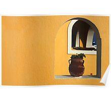 Santorini Openings Poster