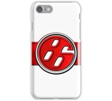 FR-S Pistons GT 86 Red iPhone Case/Skin
