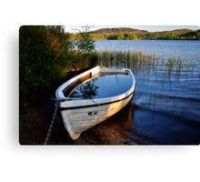 Loch Ard Boat Canvas Print