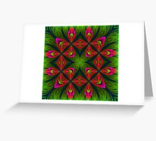 In the Midst of Friendship's Garden  Greeting Card