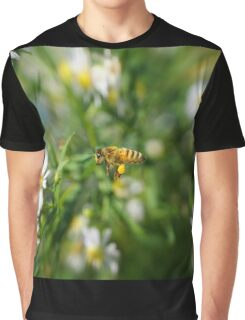 Bee in the flight Graphic T-Shirt