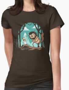 Where the Wild Adventures Are Womens Fitted T-Shirt
