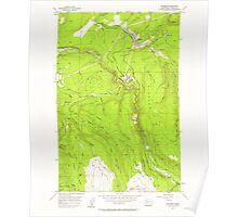 USGS Topo Map Washington State WA Wilkeson 244707 1956 24000 Poster