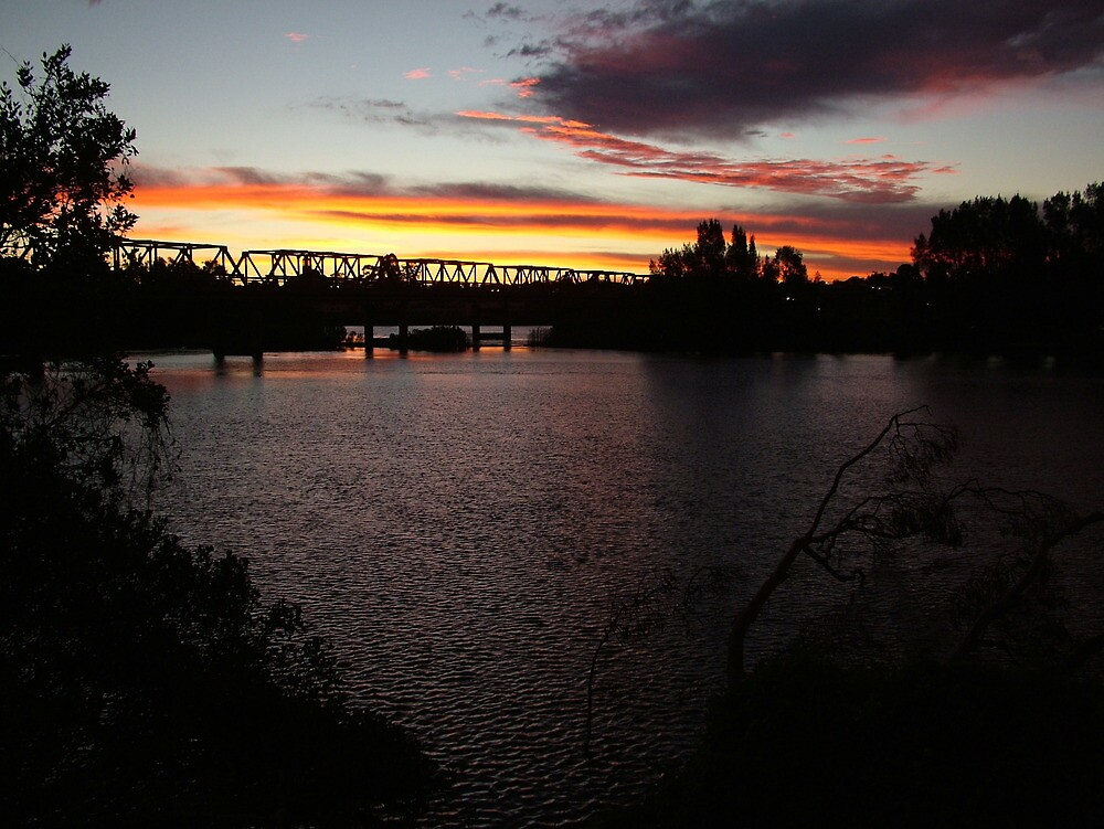 Sunset Over Martin Bridge by Gary Kelly