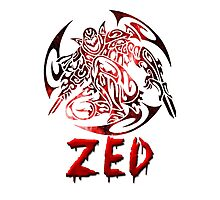 Zed Tribal C.Version Photographic Print