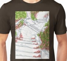 stair in central park Unisex T-Shirt