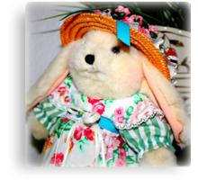 Mother Rabbit's Best Hat Canvas Print