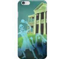 Haunted Mansion Haunted House Hitch Hiking Ghosts iPhone Case/Skin