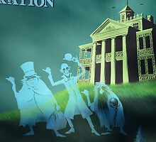 Haunted Mansion Haunted House Hitch Hiking Ghosts by notheothereye