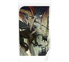 Dragon Age Inquisition-Blackwall Tarot Card Poster