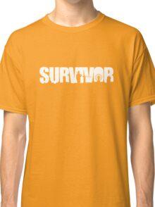 Survivor - White Ink Classic T-Shirt