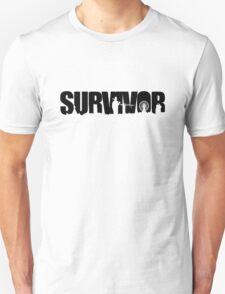 Survivor - Black Ink T-Shirt