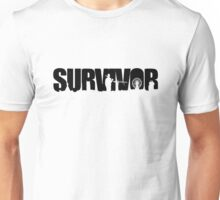 Survivor - Black Ink Unisex T-Shirt