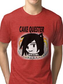 Cake Quest Episode IV A New Cake Tri-blend T-Shirt