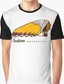 Indian Moto Graphic T-Shirt