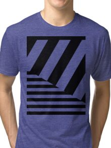 Funky Zebra Tri-blend T-Shirt
