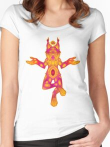 Clairvoyant Lynx Women's Fitted Scoop T-Shirt