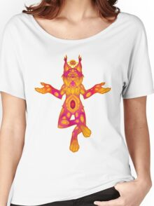 Clairvoyant Lynx Women's Relaxed Fit T-Shirt