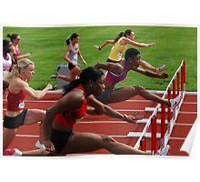 Womens Hurdles Canadian Championship 2011 Poster