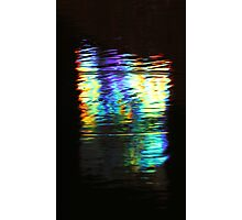 Sign Reflection Photographic Print