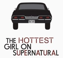 THE HOTTEST GIRL ON SUPERNATURAL by Camille Arana