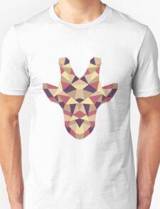 Polygonal Giraffe Unisex T-Shirt