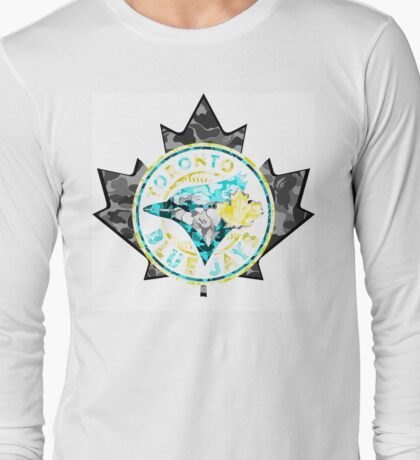 BLUE JAYS WHITE Long Sleeve T-Shirt