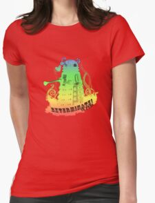EXTERMINATE is fun! Womens Fitted T-Shirt
