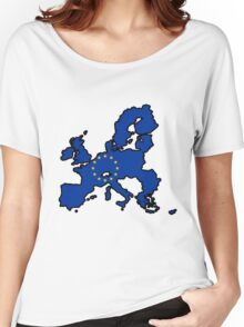 United States of Europe Women's Relaxed Fit T-Shirt